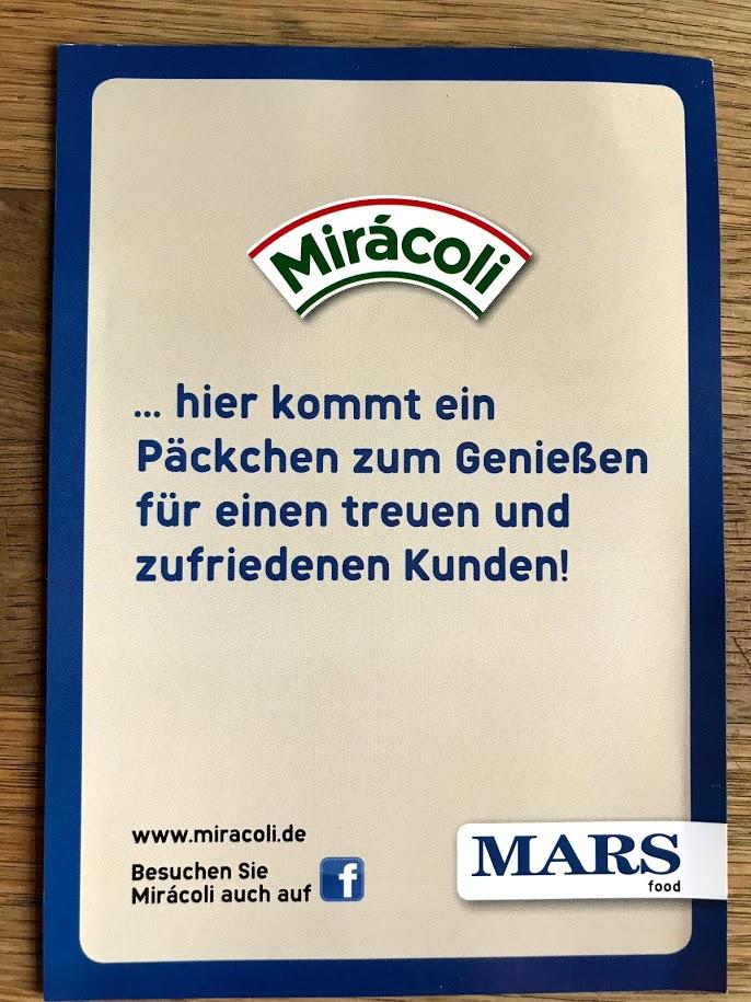 Miracoli ist fertig
