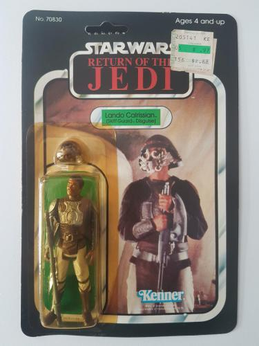 Lando Skiff ROTJ65B Kenner